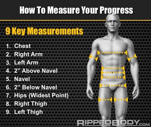Measurement Guide - Rippedbody.com