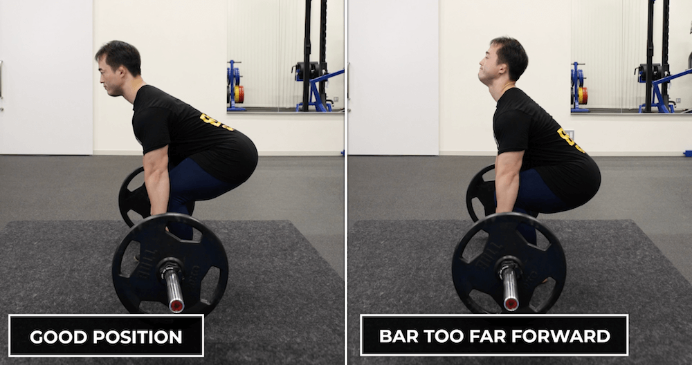 Deadlift Form - Keep the bar close to fix the bar path and maintain proper form.