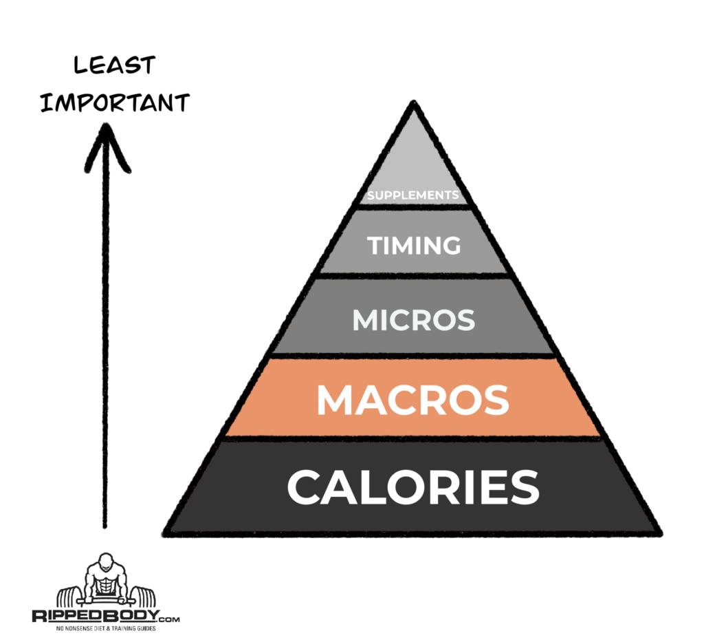Nutrition Pyramid - Macros